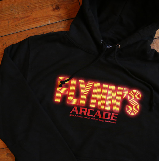 Flynn S Arcade Hooded Top Last Exit To Nowhere