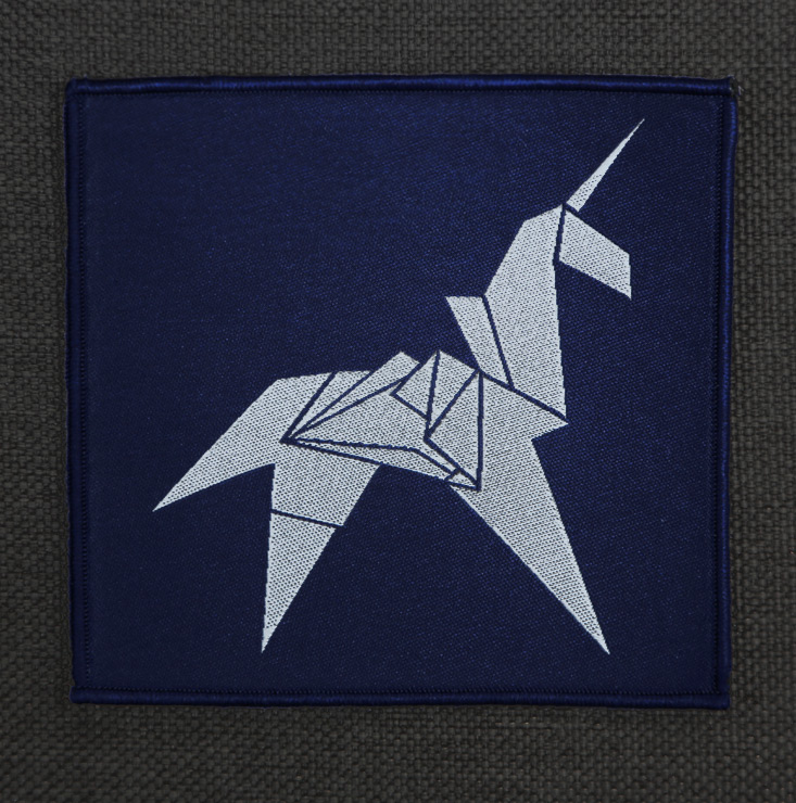 Origami Unicorn Patch Last Exit To Nowhere