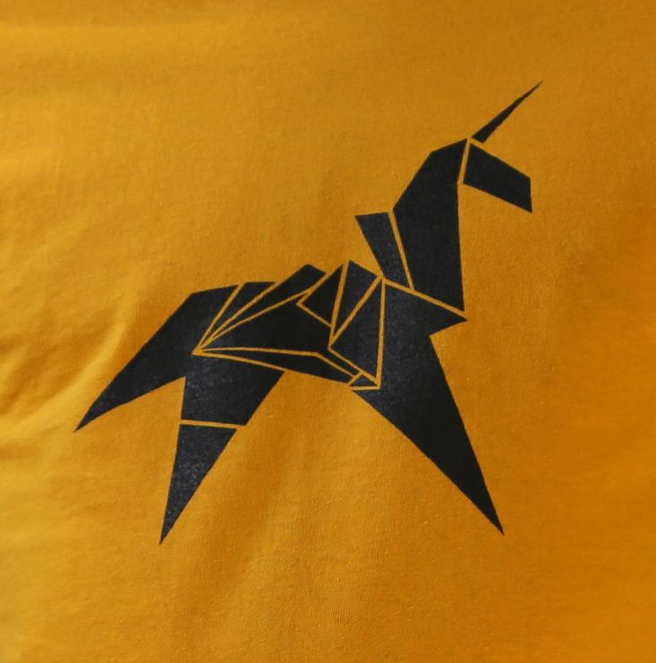 ArtStation - 3D Print - Origami Unicorn Figure, Hugo Sineau | 740x733
